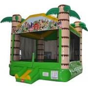 Tropical Adventure Bounce House - Large