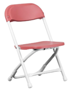 Red Folding Children's Chairs