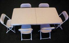 Kids Banquet Table and Chair Package