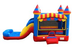 Circus Castle Bounce and Slide Combo