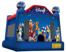 Disney Characters Bounce House - Large
