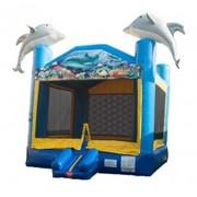 Dolphin Ocean Bounce House - Large