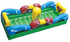 Football- First Down Bungee Run Game