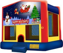 Happy Holidays Playtime Bouncer - Medium