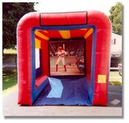 Inflatable Pitching Game