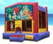 Little Mermaid Partytime Bouncer - Large