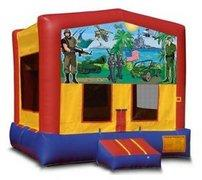 Military Playtime Bouncer - Medium