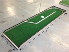 Mini Golf Game - Single Hole