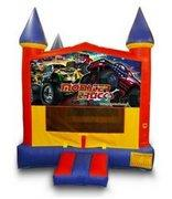 Monster Truck Castle Jumper - Medium