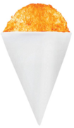 Snow Cone Flavor- 25 Servings of Orange