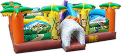 Giant Paradise Playground Bounce House