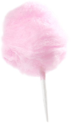 Cotton Candy Supplies - 25 servings of pink