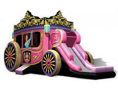 Princess Carriage Bounce and Slide 3D