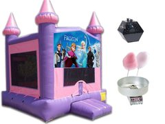 Princess Theme Bounce Party Package