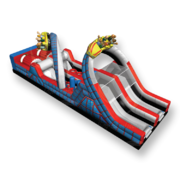Roller Coaster Obstacle Course 45Ft (JSOB4)