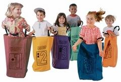 Sack Race Set - Set of Six Colorful Bags (CG1612)