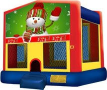 Snowman Playtime Bouncer - Medium