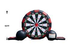 Soccer Darts Multi Use Inflatable Game