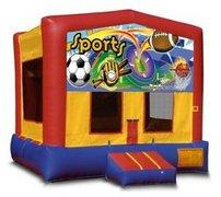 Sports Banner Playtime Bouncer - Medium