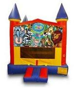 Wild Kingdom Castle Bouncer - Medium