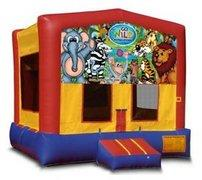 Wild Kingdom Playtime Bouncer - Medium