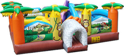 Giant Paradise Playground Bounce House (JSP1)