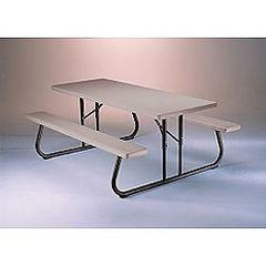 Tables - 6' Folding Adult Picnic (TC6GPICT)