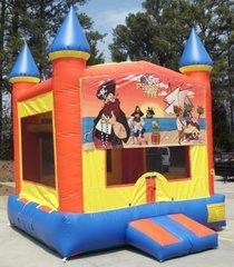 Pirate's Cove Castle Bouncer with Hoop  - Medium