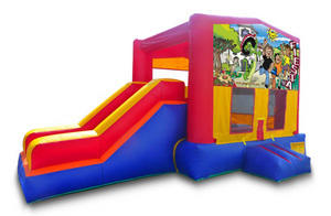 z Fiesta Playtime Jump and Side Slide - Medium