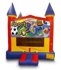 Sports Banner Castle Bouncer - Medium