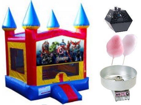 Superhero Theme Castle Party Package