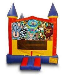 z Wild Kingdom Castle Bouncer - Medium