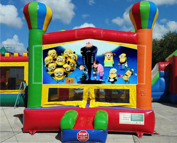 Banana Gang Balloon Bounce House