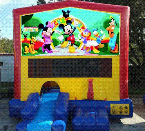 Mouse and Friends Bounce House