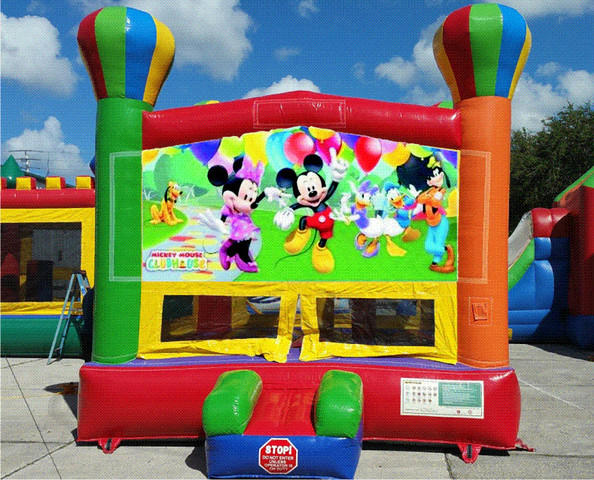 Mouse Party Balloon Bounce House
