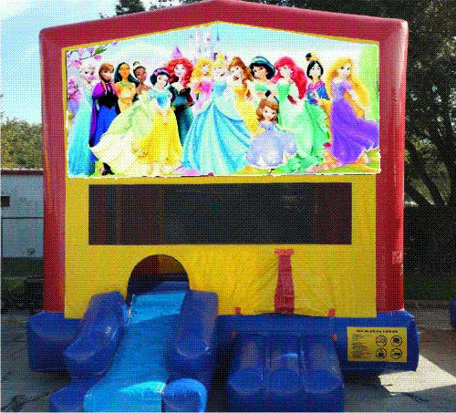Princess and Friends Bounce House