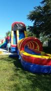 22ft Screamer Slide w/Slip n Slide