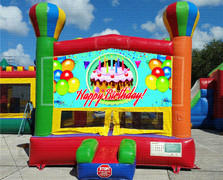 Birthday Balloon Bounce House