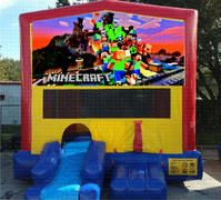 Mine Craft Bounce House