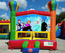 Ice Princess Balloon Bounce House