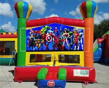 Justice Balloon Bounce House