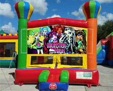 Monster Balloon Bounce House