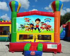 Paw Patrol Balloon Bounce House