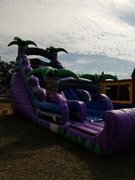 20ft Purple Crush Dry slide with landing