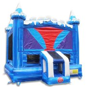 Large Blue bounce house