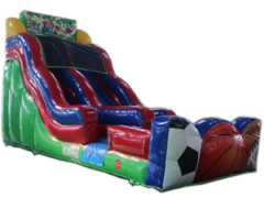 18 Ft Sports Water Slide, same day drop off and pick up or weekend rental, drop off Friday and Pick up Monday for the same one day price