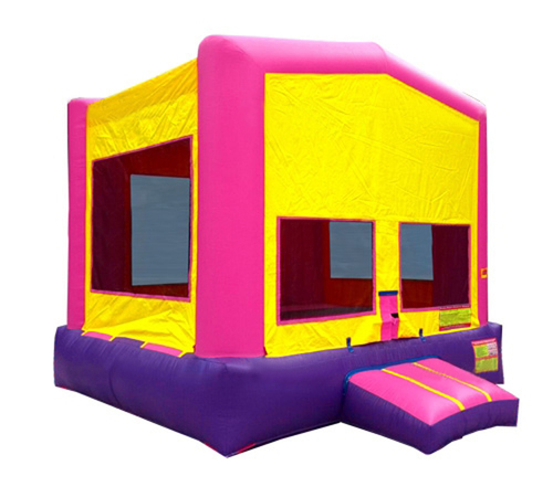 Pink And Purple Bounce House