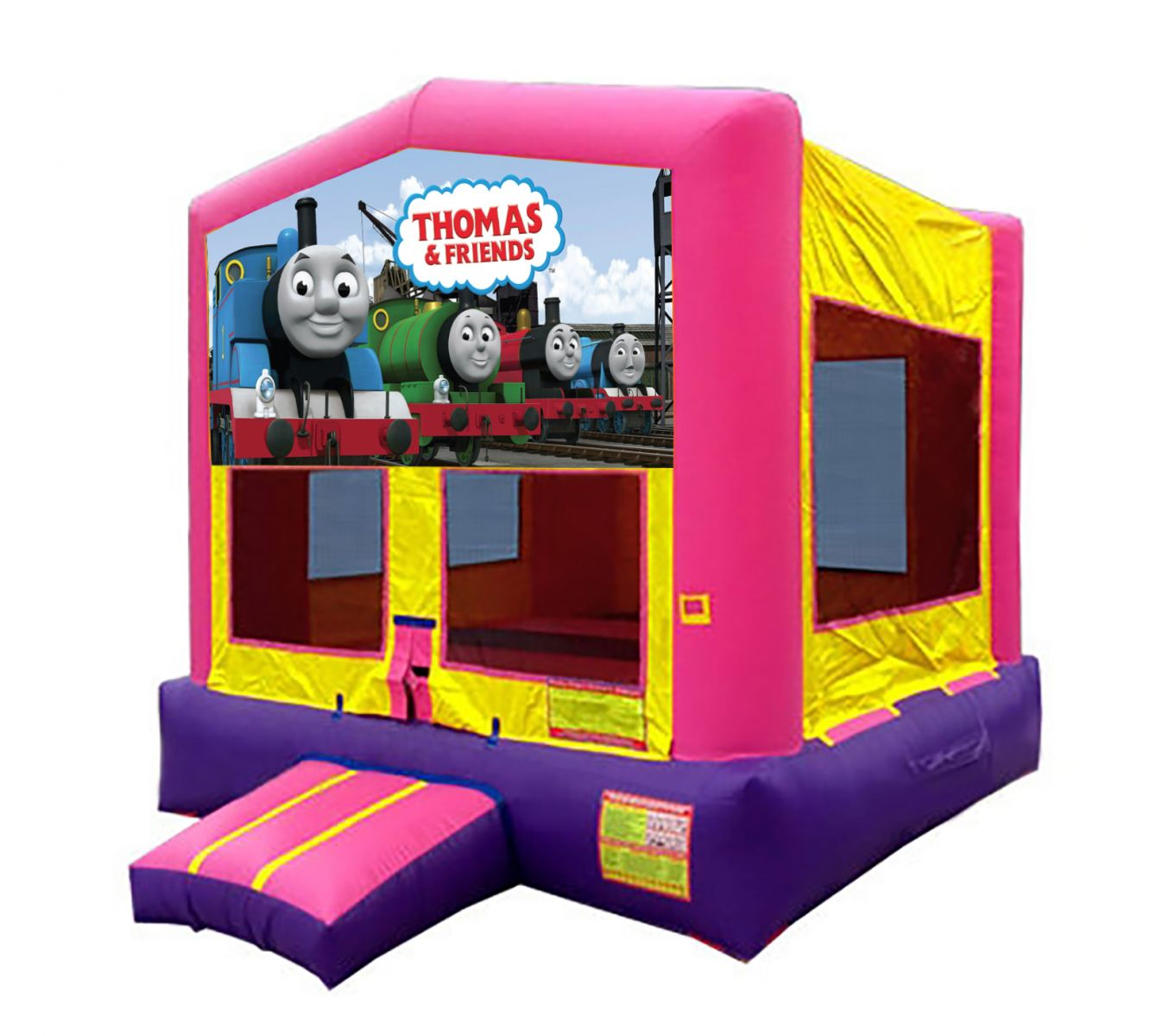 Pink And Purple Thomas The Train Bounce House