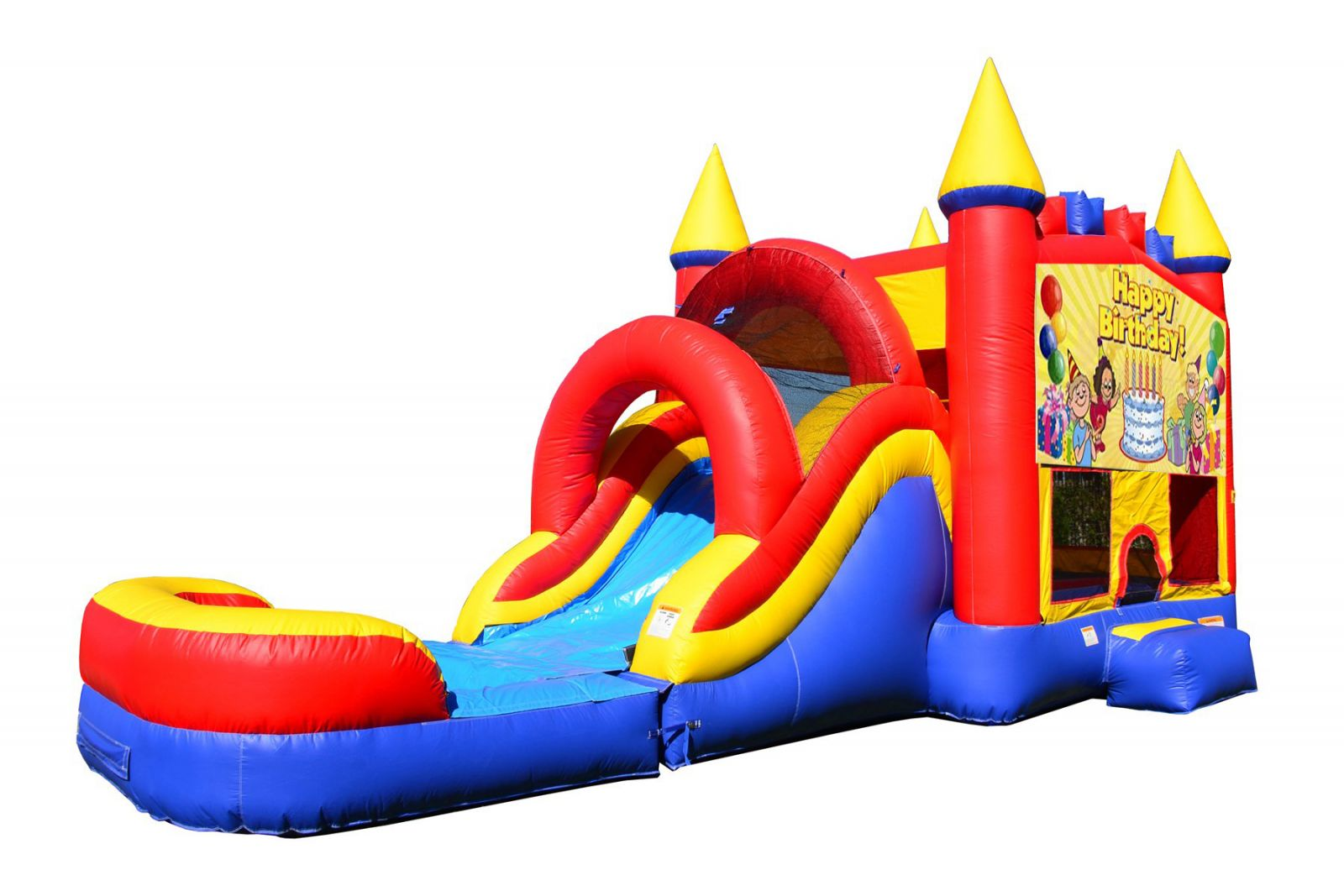 Birthday Bounce House With Water Slide And Pool