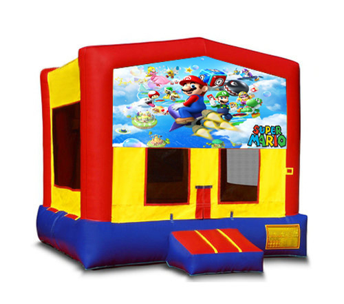 Mario Brothers Bounce House2